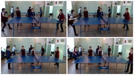 III место в районных соревнованиях по настольному теннису среди девочек 4-5 классов